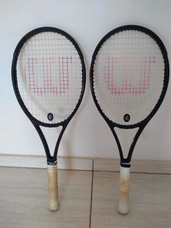 Par De Raquetes Wilson Black Series Rf 97 290gr Ambas L1