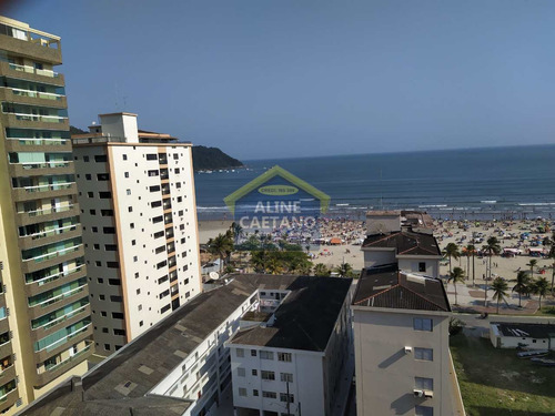 3 Dorms, No Canto Do Forte, Vista Mar..com Planejados. - Vant4812