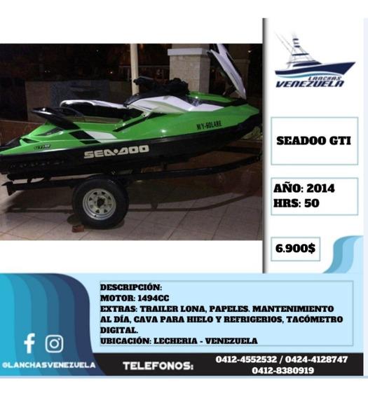 Moto Seadoo Gti 130 1494cc Lv538