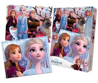 Frozen Ii Puzzle 48 Y 56 Pzas Dfz07845