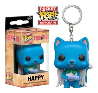 Funko Pop Keychain Fairy Tail Happy