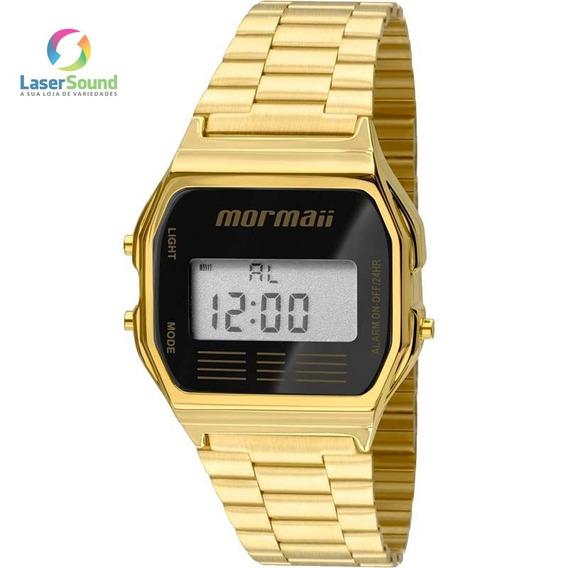 Relógio Mormaii Unissex Mojh02ab/4p, C/ Garantia E Nf