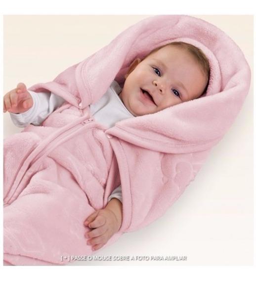 2 Em 1 - Saco De Dormir E Cobertor Bebe Baby Sac Jolitex