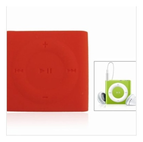 Imagen 1 de 6 de Estuche En Goma Protectora  iPod Shuffle 4g Y 5g