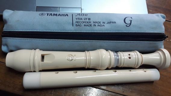 Flauta Dulce Contralto G Yamaha