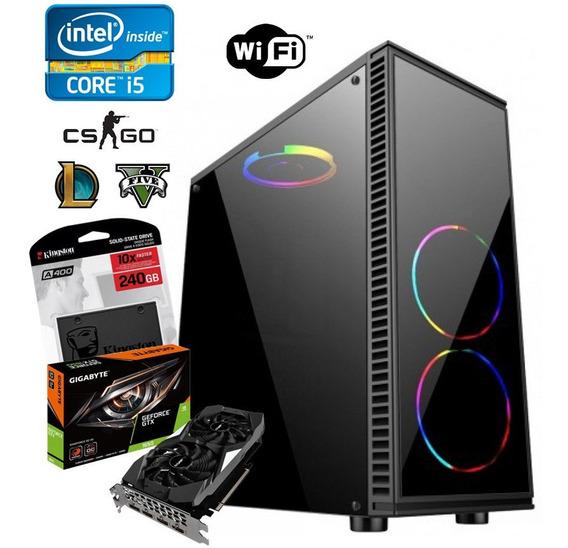 Pc Gamer Intel Core I5 3570 + 16gb + Ssd240 + Gtx 1650 4gb