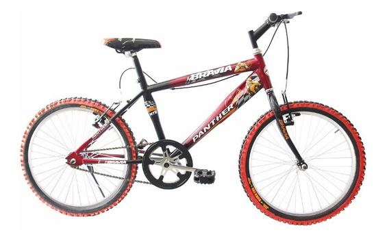 Bicicleta Infantil Bravia Rodada 20 Para Niño