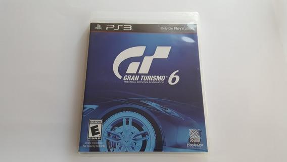 Jogo Gran Turismo 6 - Ps3 - Original - Mídia Física
