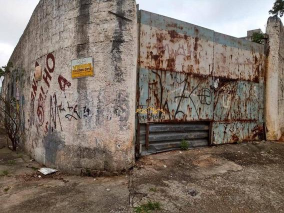 Terreno À Venda, 690 M² Por R$ 1.300.000,00 - Jardim Santa Cecília - Guarulhos/sp - Te0035