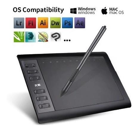 Tablet 10*6 Polegada Profissional Gráfico Digital 81