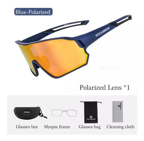 Gafas/lentes Deportivos Polarizados Rockbros Fullframe Egan