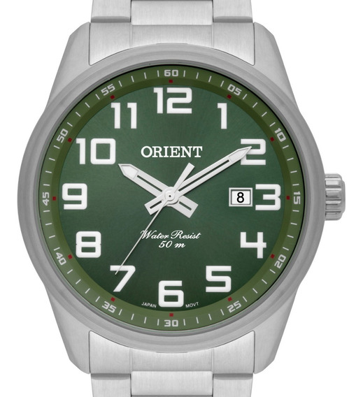 Relógio Orient Masculino Prata - Mbss1271 E2sx