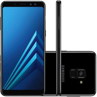 Samsung Galaxy A8 2018 A530f 64gb Dual 16mp Preto Vitrine 1