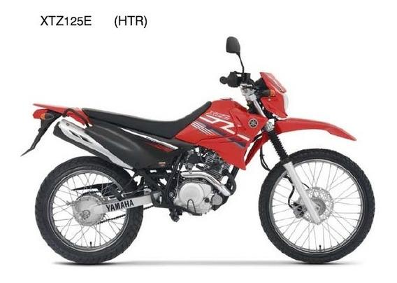 Adesivo Da Aba Do Tanque Esq. Vermelha Xtz 125 2009 Original