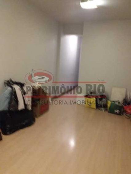 Excelente Apartamento Vazio Sala Dois Quartos Mais Dependência Empregada - Paap23758