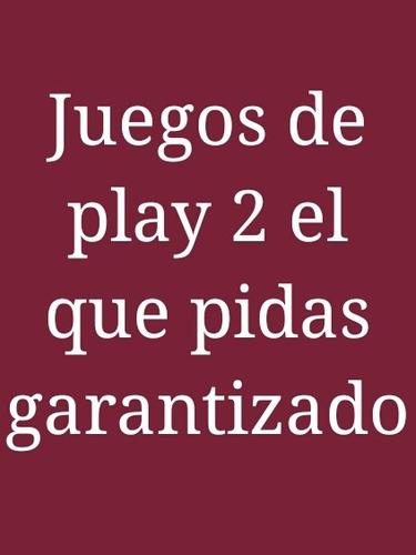 Juegos De Play 2 Nuevos 100% Garantizados, Se Prueban