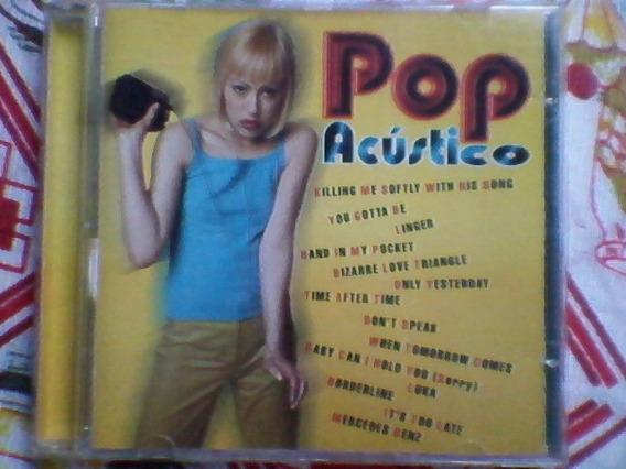 Cd Pop Acústico,cantoras,raro