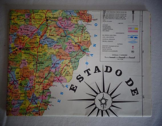 Mapa Minas Gerais 1990