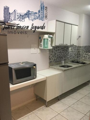 Apartamento Quarto E Sala Reformado Mobiliado E Decorado No Ana Régis Flat House! - 07181 - 68227897
