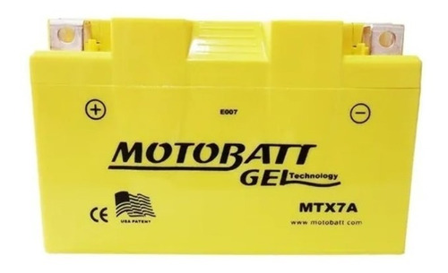 Mtx7a Motobatt Bateria Burgman 125 2006-2010