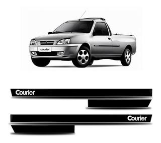 Friso Lateral Courier Pick-up - Kit 4 Peças Personalizado