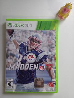 Madden Nfl 17 Xbox 360 Garantizado