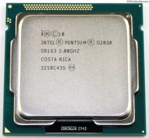 Processador Intel Dual Core G2030 1155 Seminovo
