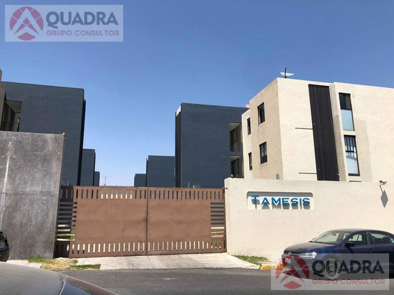 Departamento En Renta Amueblado En Residencial Tamesis, Angelopolis, San Andres Cholula, Puebla.