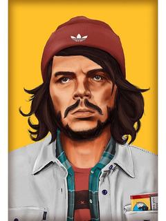 Placa Quadro Decorativo 60x40cm Che Guevara