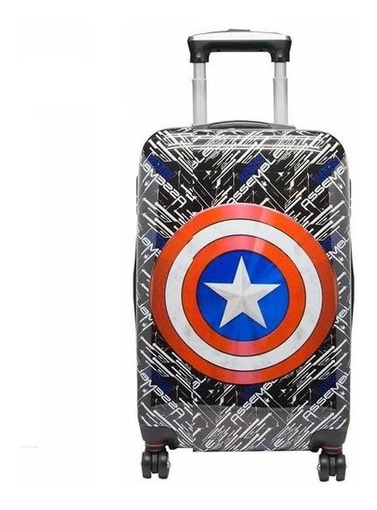 Valija Avengers 24 Pulgadas Semi Rígida Marvel Orig Cresko