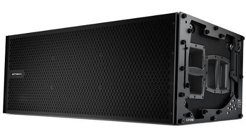 Line Array 2x12 Polegadas 2000w Vertcon L 212 D - Attack