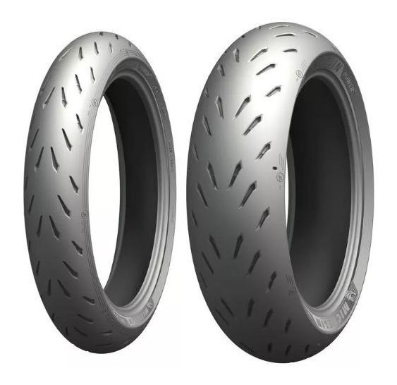 Par Pneu 120/70-17+200/55-17 Michelin Pilot Power Rs Motogp