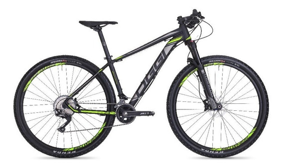 Bicicleta Big Wheel 7.4 Aro 29 22 Vel Preto/verdeoggi