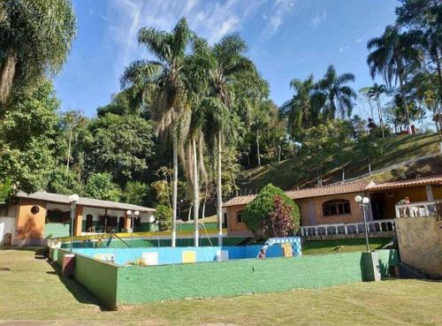 Chácara Com 3 Dormitórios À Venda, 7500 M² Por R$ 800.000,00 - Parque Dos Jacarandás - Arujá/sp - Ch0034