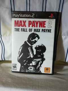 Max Payne 2 Ps2 Buena Condición General Sin Manual Play 2