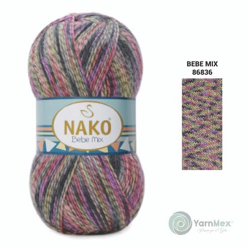 Estambre Nako Bebe Mix