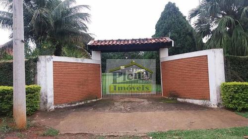 Chácara Residencial À Venda, Recanto Do Guarapari, Nova Odessa. - Ch0080