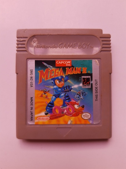 Megaman 2 Gb Americano Original Mega Man 2 Game Boy 100% Ok