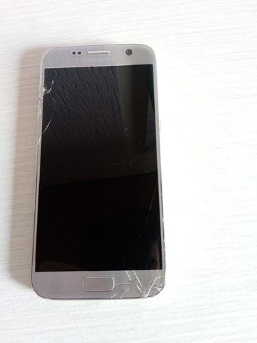 Celular Samsung Galaxy S7 - Tela Quebrada