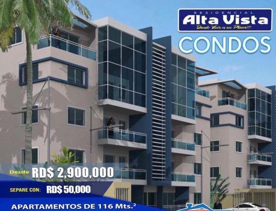 Nuevo Proyecto De Apartamentos, Alta Vista, 2.9