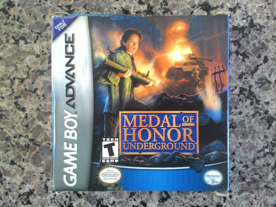 Jogo Medal Of Honor Underground Do Game Boy Advance Original