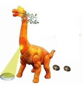 Dinossauro Eletrônico, Anda, Emite Som, Luzes Ovo Promoção