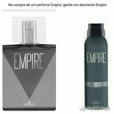 Perfume Masculino Empire Ganhe Um Desodorante
