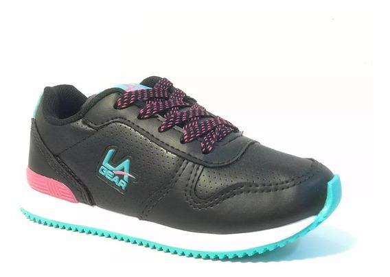 Zapatillas La Gear Collins Pu Kids Lak05890 Locos X Vos