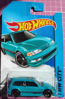 Hw - Hot Wheels - 90 Honda Civic Ef - 1/64