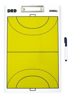 Pizarra Táctica De Acrílico Vóley Handball Hockey