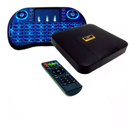 Convertidor Smart Convertir Tv Box Android Teclado Hdmi Rca