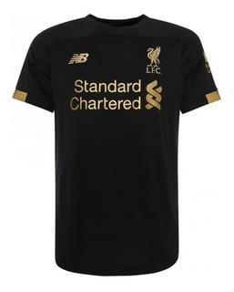 Camisa Liverpool Preta 2019/20 ( Pronta Entrega ) Promoção!