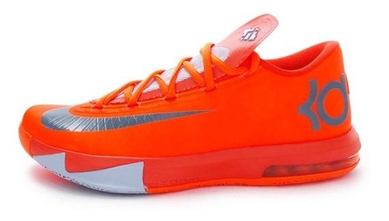 Botas Nike Zoom Kd Vi 6 Total Orange Baloncesto Kevin Duran
