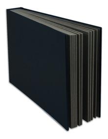 Álbum Especial Preto,autocolante Para 20 Fotos 15x21 1pr